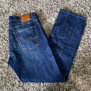 Lucky Brand Blue 211 Original Straight Jeans 34x32